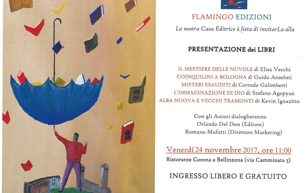 Flamingo Edizioni: presentazione dei nuovi libri ed incontro con gli autori