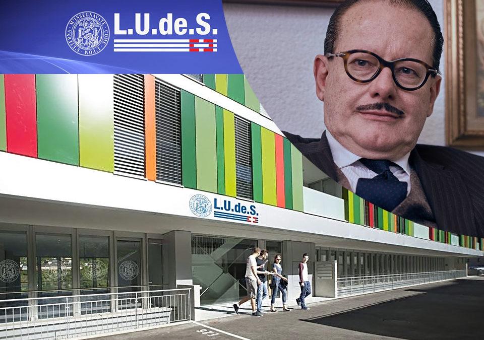 LUDeS, Campus di Lugano: incarico di docenza per il Dr. Med. Orlando Del Don