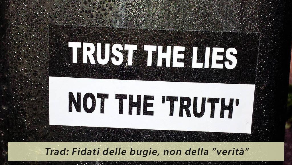 Le false verità